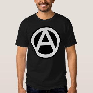 Anarchy Symbol Klassisch (schwarzer Hintergrund) Shirts