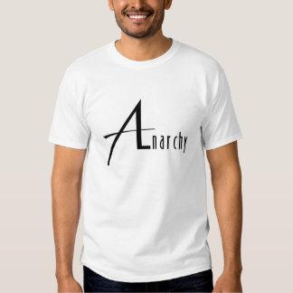 anarchy white tshirts