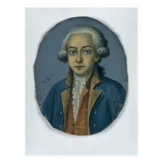 Anastasius Ludwig Mencken, c.1780 Postkarte
