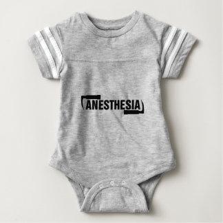 Anästhesie-Mac-Blatt Baby Strampler