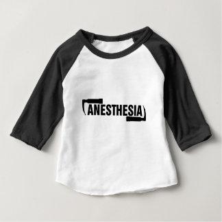 Anästhesie-Mac-Blatt Baby T-shirt
