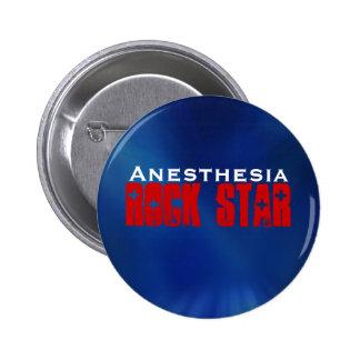 Anästhesie RockStar Runder Button 5,7 Cm