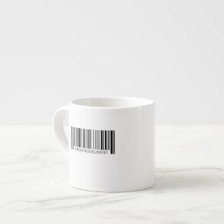 Anästhesiologe-Barcode Espressotasse