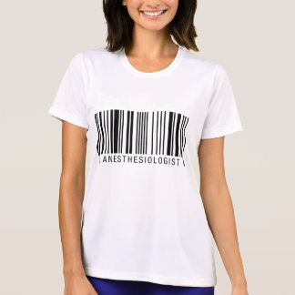 Anästhesiologe-Barcode T-Shirt