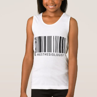 Anästhesiologe-Barcode Tank Top