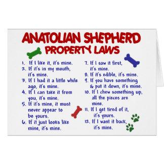 ANATOLISCHE SCHÄFER Eigentums-Gesetze 2 Karte