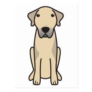 Anatolischer Schäfer-HundeCartoon Postkarte