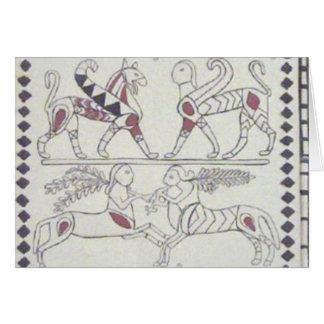 anatolisches Fresko Karte
