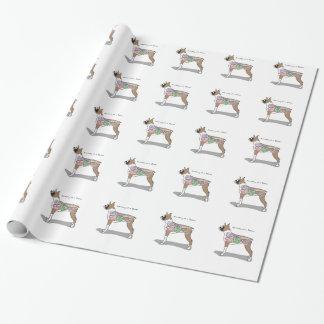 Anatomie der Boxer-Hundegeschenke Geschenkpapier