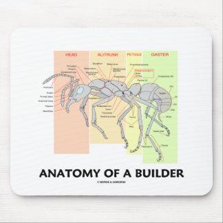 Anatomie eines Erbauers Mousepad