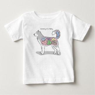 Anatomie eines heiseren Kleides Baby T-shirt