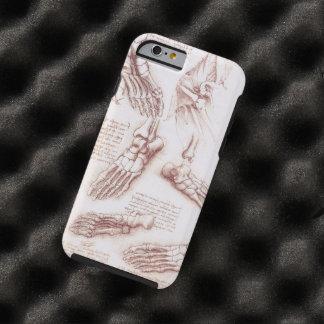 Anatomie-menschlicher Fuß-Skelett entbeint da Tough iPhone 6 Hülle