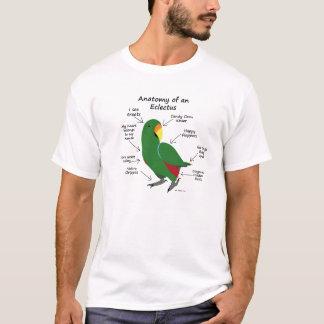 Anatomie von einem Eclectus T-Shirt