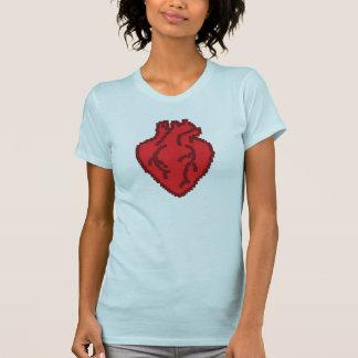 anatomisch korrektes Herz 8bit T Shirts