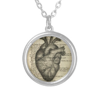 anatomisches Herz Halsketten