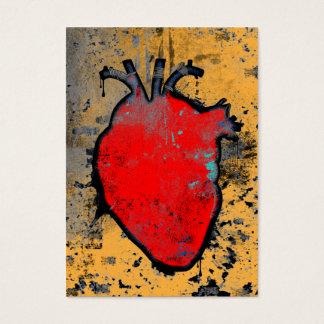 anatomisches Herz Visitenkarte