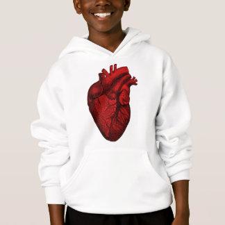 Anatomisches menschliches Herz Hoodie