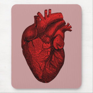 Anatomisches menschliches Herz Mousepad