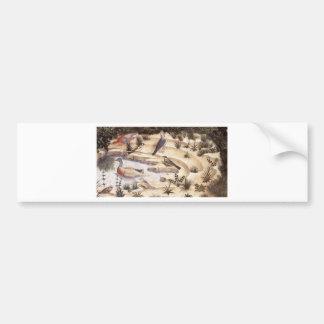 Anbetende Engel (Detail) durch Benozzo Gozzoli Autoaufkleber