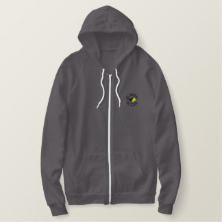 AnCap Flaggen-Shirt Besticktes Kapuzenpulli
