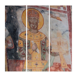 Anchient religiöses Artwrok Triptychon