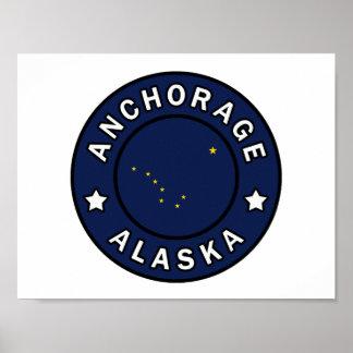 Anchorage Alaska Poster