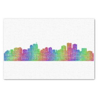 Anchorage-Skyline Seidenpapier