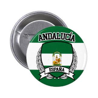 Andalucía Runder Button 5,1 Cm