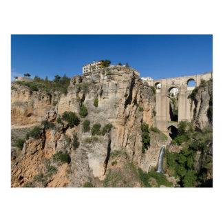 Andalusien - Schlucht von Ronda-Postkarte Postkarten