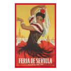 Andalusien, Sevilla Poster
