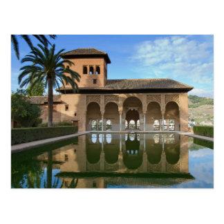 Andalusien- - Torrede Las Damas Alhambra Postkarte