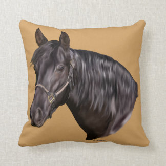 Andalusischer Pferdekunst-Druck Kissen