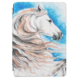 Andalusisches Pferdeblau iPad Air Hülle