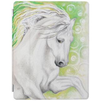 Andalusisches Pferdegrün iPad Hülle