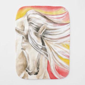 Andalusisches Sonnenschein-Pferd Spucktuch