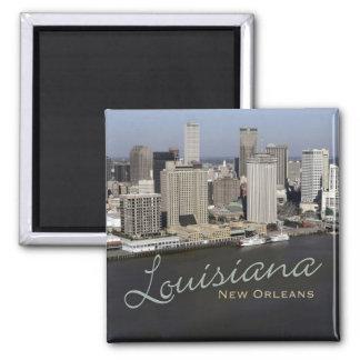 Andenken-Kühlschrankmagnet New Orleans Louisiana Quadratischer Magnet