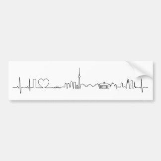 Andenken Liebe I Berlins (ecg Art) Autosticker