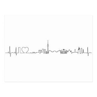 Andenken Liebe I Berlins (ecg Art) Postkarte