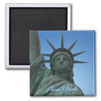 Andenken-Magnet New- YorkKühlschrankmagnet-NY Quadratischer Magnet