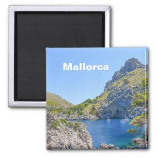 Andenken Mallorca, Spanien Sa Calobra Quadratischer Magnet