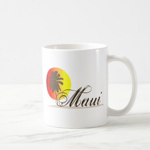 Andenken Mauis Hawaii Tasse