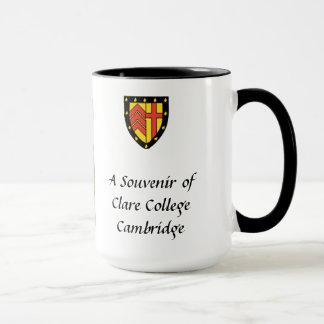 Andenken-Tasse - Clare-Uni, Cambridge Tasse