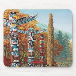 Andenken-Vancouver-Kunst-Geschenke Vancouvers Mousepad