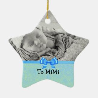 Andenken-Verzierung für Baby bis Mimi Keramik Ornament