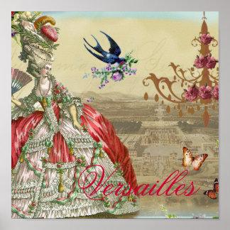 Andenkende Versailles Poster