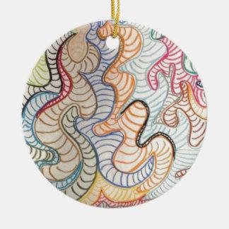 andere gelegentlich rundes keramik ornament