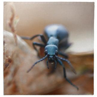 Anderes weltliches Insekt Stoffserviette