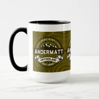 Andermatt Logo-Olive Tasse