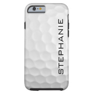 Ändern Sie den Namen - Golfball iPhone Fall Tough iPhone 6 Hülle