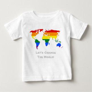 Ändern Sie den WeltGay Pride T - Shirt
